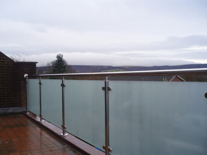 Glass Balustrade Collection Quality Flat And Fibre