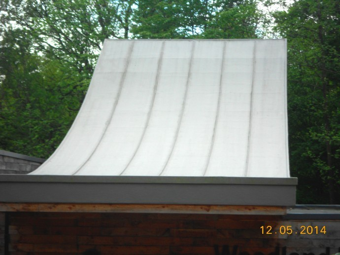 Curved Amp Lead Roll Effect Roof J G Graves Woodland
