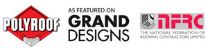 Polyroof as featured on Grand Designs