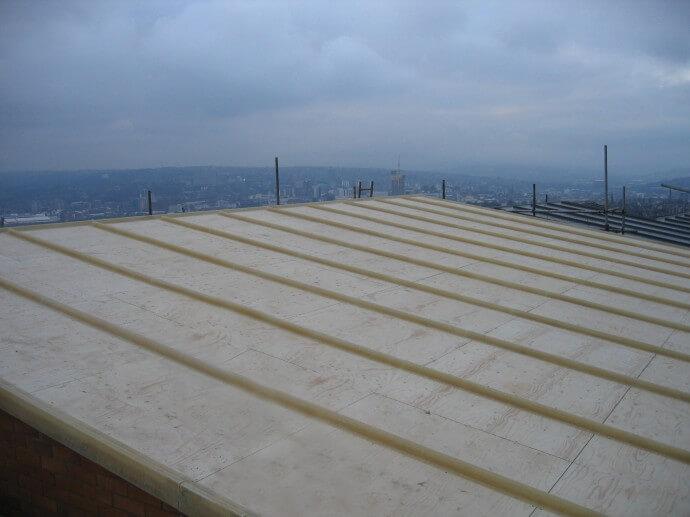 Lead Roll Effect Roof Nolfolk Park Gleeson Regeneration